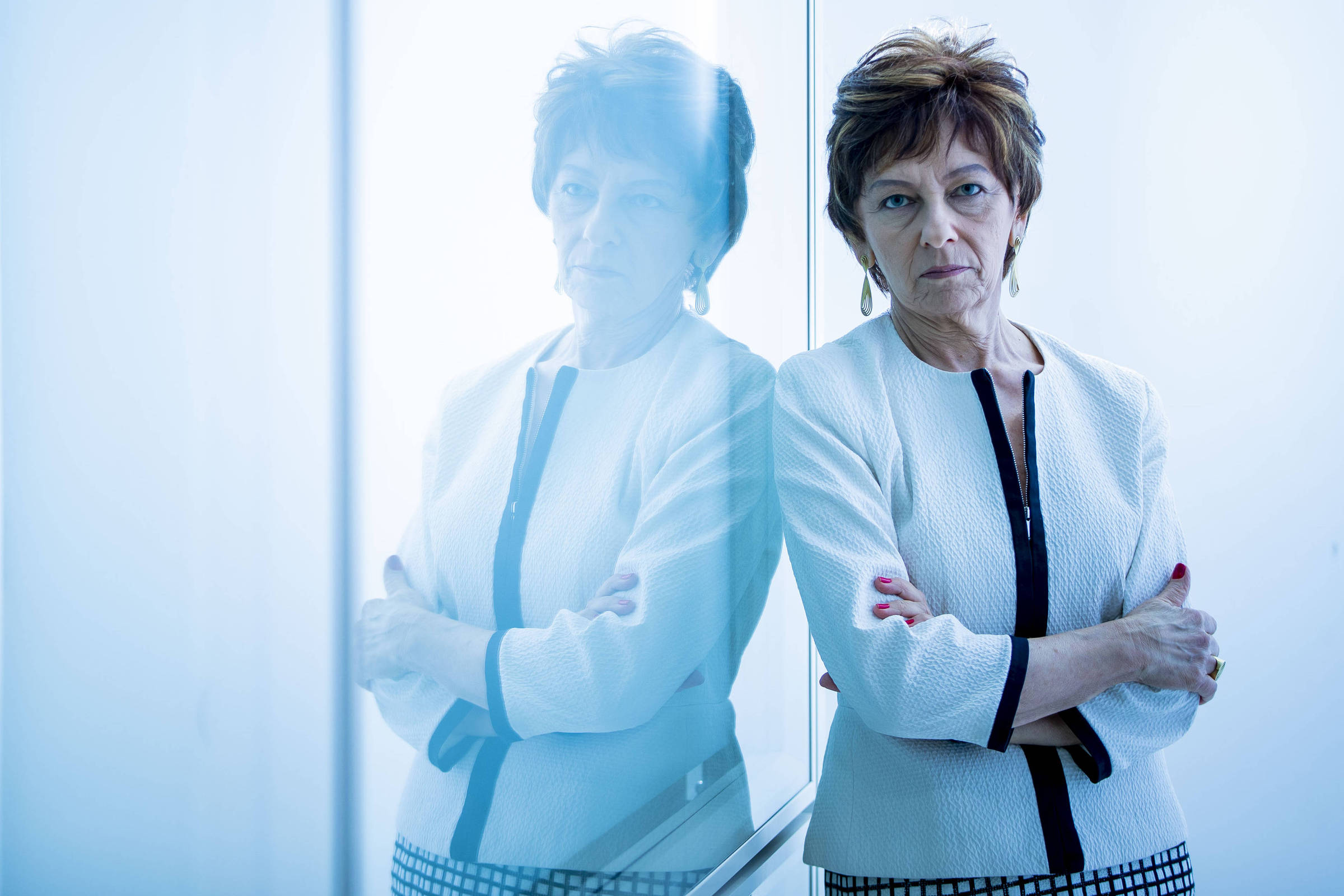 A economista Maria Cristina Pinotti, organizadora do livro