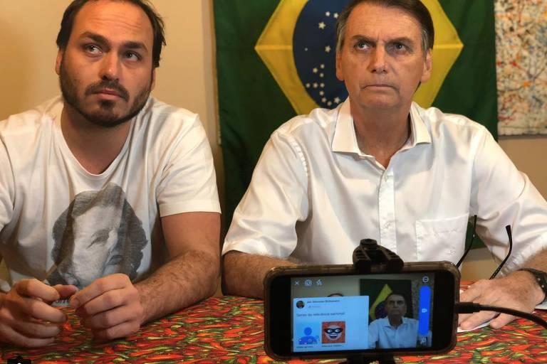 Este é Carlos Bolsonaro