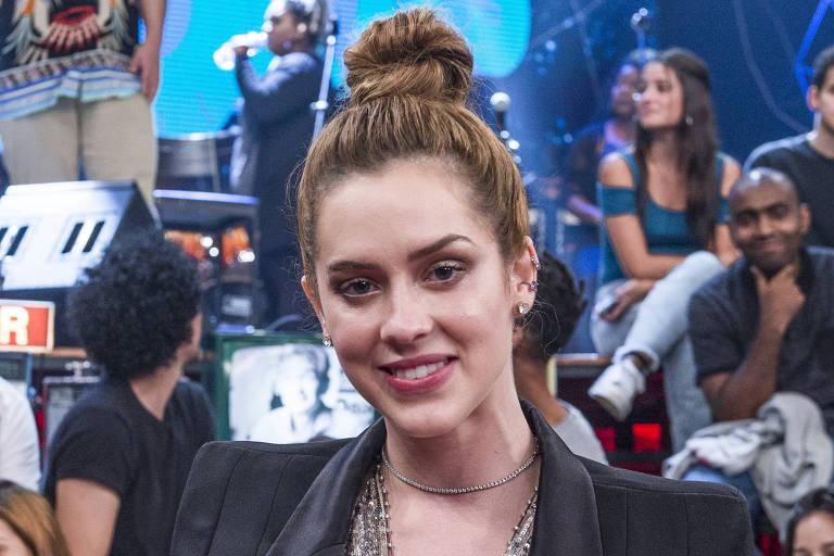 Sophia Abrahão é convidada de Serginho Groisman no 'Altas Horas' deste sábado, dia 23