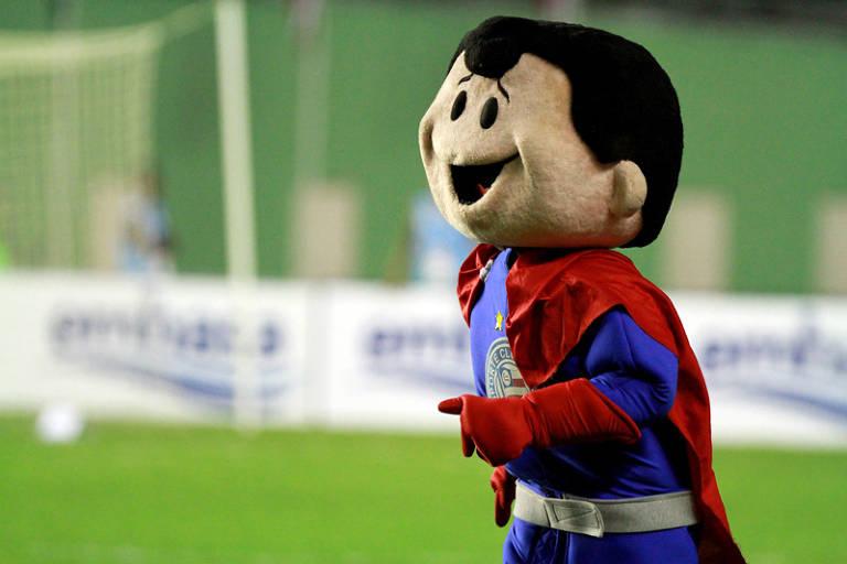 Veja mascotes espalhados pelos estádios brasileiros