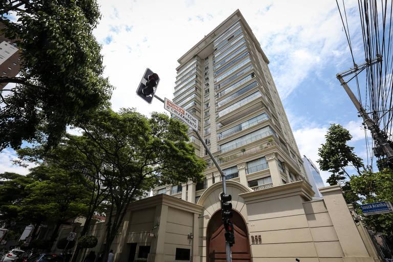 Foto da fachada do prédio onde mora Paulo Preto, que foi preso na Operação Lava Jato