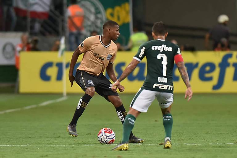 Palmeiras e Santos jogam no sábado (23) e abrem a fase de quartas de final