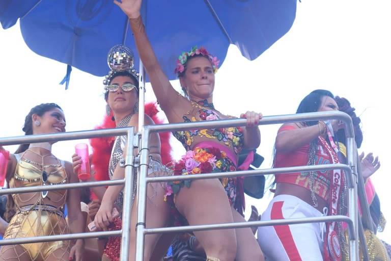 Famosos no Carnaval