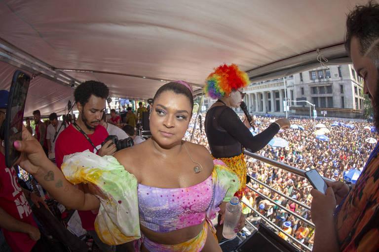 Preta Gil festeja os 10 anos de seu bloco no Rio