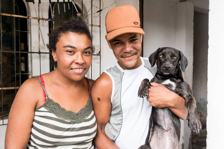 Bruna Nascimento e Cleinton Rodrigues têm aluguel social em Porto Alegre