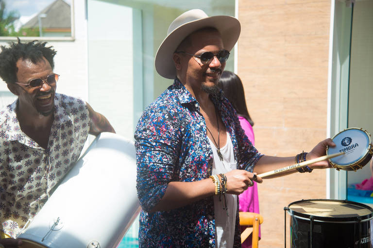 Bruno Cardoso, vocalista do grupo Sorriso Maroto