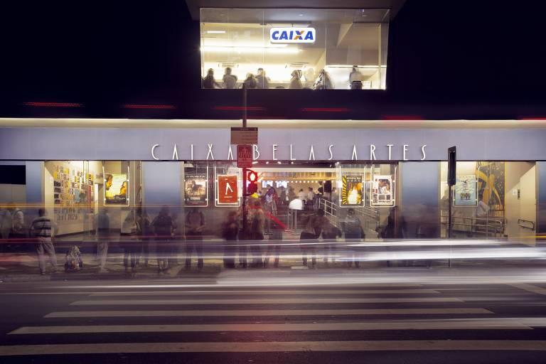 Fachada do cinema Caixa Belas Artes