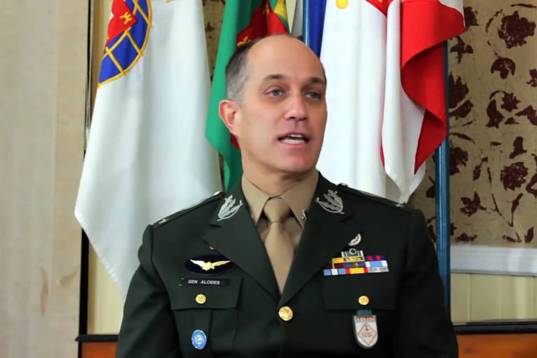 General Alcides Valeriano de Faria Júnior, que irá para o Comando Sul dos Estados Unidos