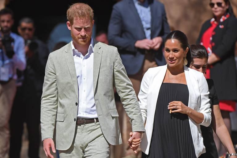 Príncipe Harry e Meghan visitam Marrocos