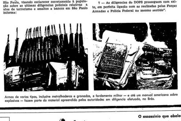 Primeira Página da Folha de 25 de fevereiro de 1969