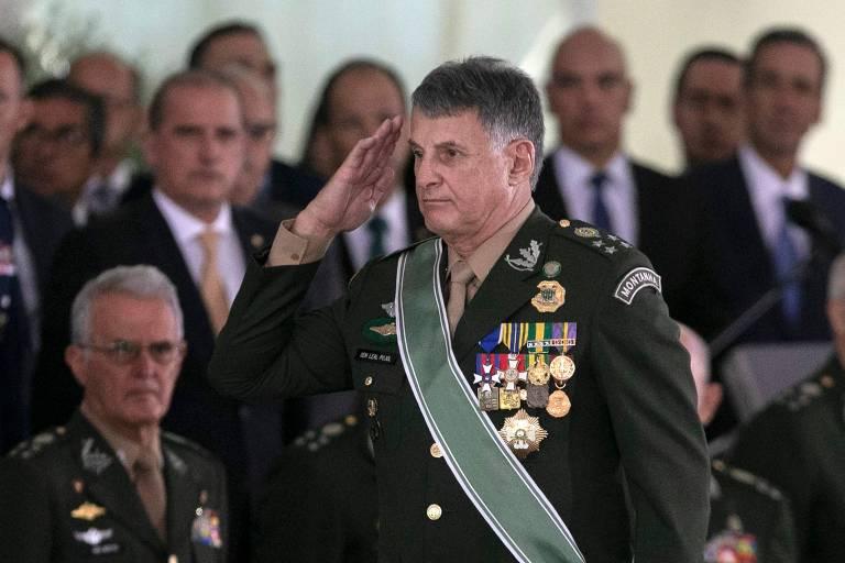 Edson Pujol, comandante do Exército