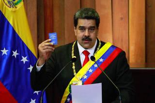 VENEZUELA-CARACAS-MADURO-JURAMENTACION