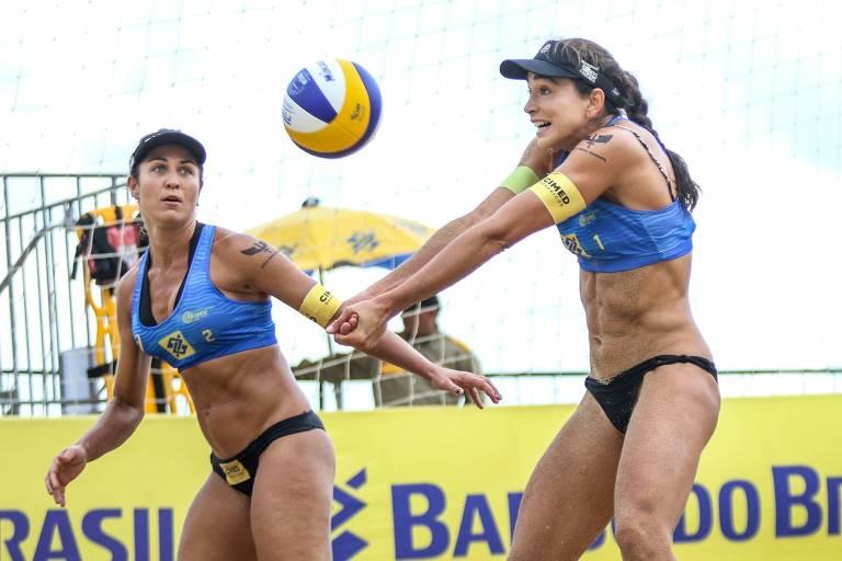 Principais duplas brasileiras do vôlei de praia