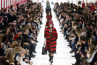 Dior show at Paris Fashion Week