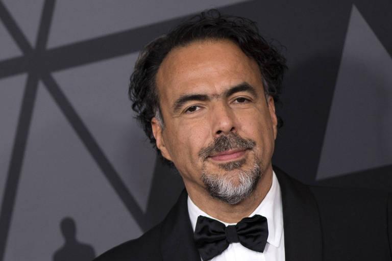 Alejandro G. Iñárritu em evento em Los Angeles, em 2017