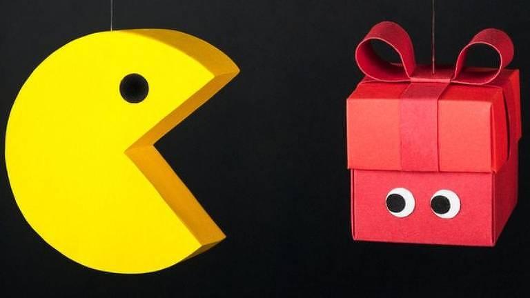 Entre as possibilidade que o Google oferece estão jogos como Pac-Man
