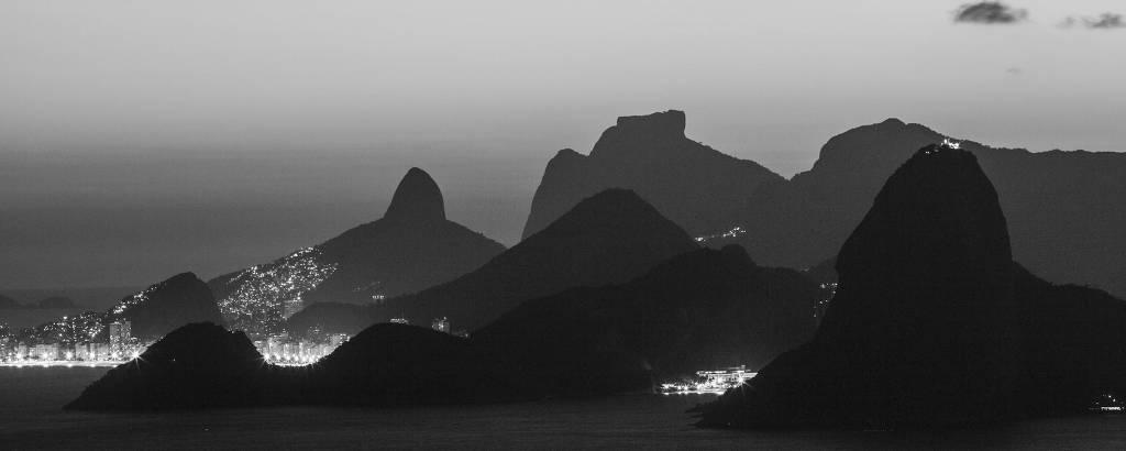Rio de Janeiro fotografado a partir do Parque da Cidade de Niterói