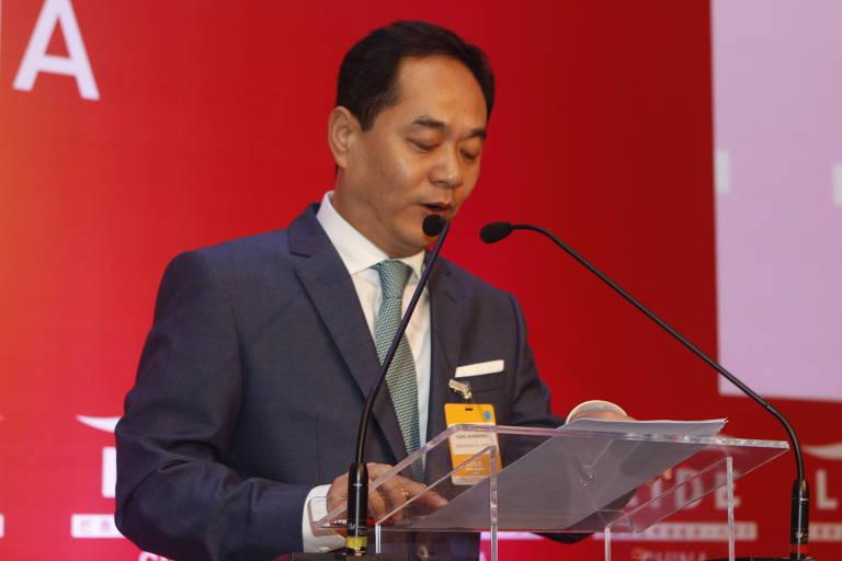 O novo embaixador da China no Brasil, Yang Wanming