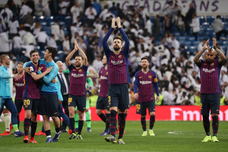 Semifinal da Copa do Rei 2019: Real Madrid x Barcelona