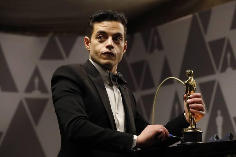 O ator Rami Malek, 37