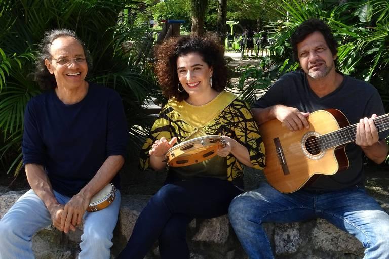 Mingo Araújo, Paula Santoro e Igor Eça recriam sambas-enredos históricos