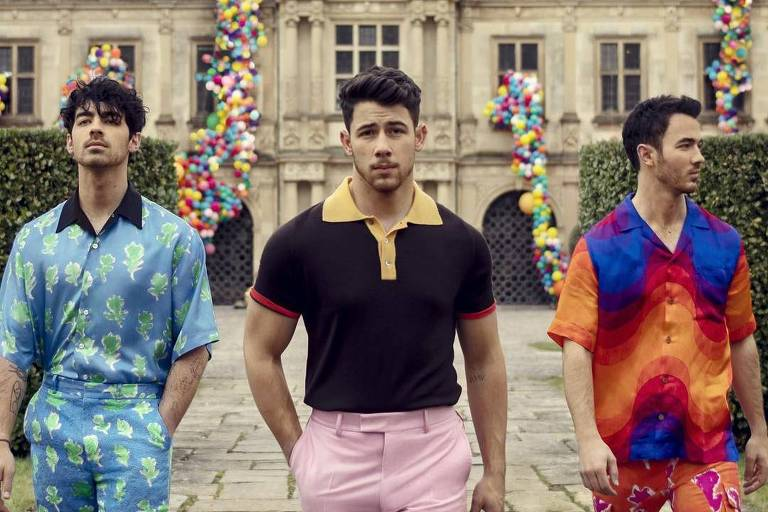 "Capa de ""Sucker"", novo single dos Jonas Brothers"