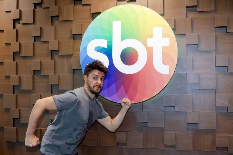 Oscar Filho assina contrato com o SBT