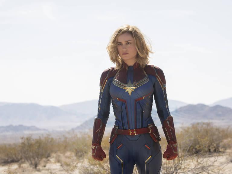 A atriz Brie Larson, protagonista de 'Capitã Marvel', é uma das convidadas da Comic Con