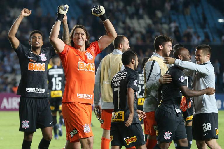 Classificação do Corinthians contra o Racing na Copa Sul-Americana foi transmitida pela DAZN