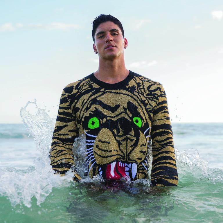 Gabriel Medina para a revista GQ