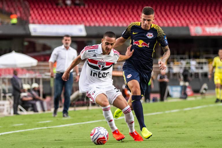 Em fevereiro, Red Bull empatou em 0 a 0 com o São Paulo no Morumbi pela fase de grupos do Paulista