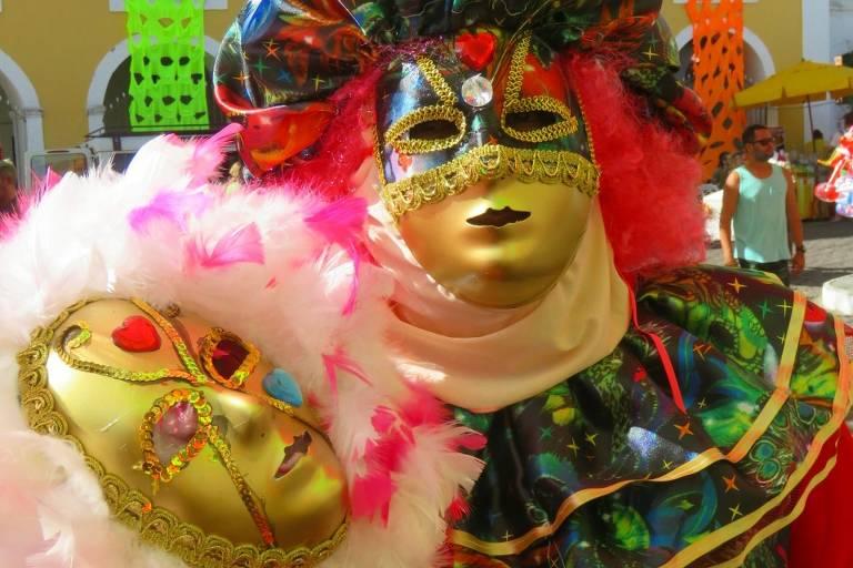 Carnaval em Maragojipe, na Bahia