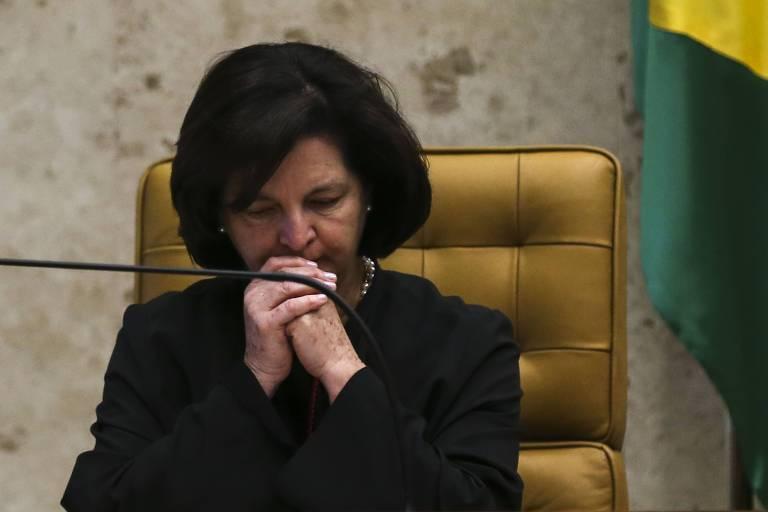 A procuradora-geral da República, Raquel Dodge, durante sessão solene de abertura do Ano Judiciário 2019, no STF