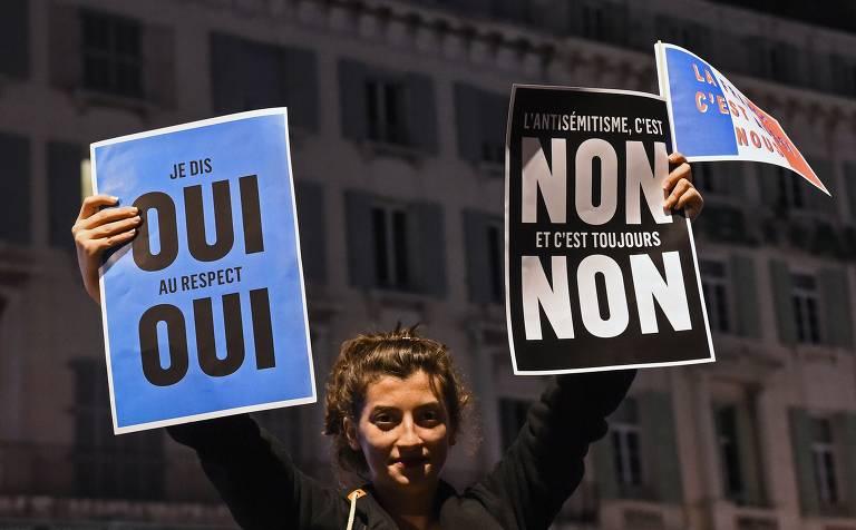 Crescem os casos de antissemitismo na França em 2018