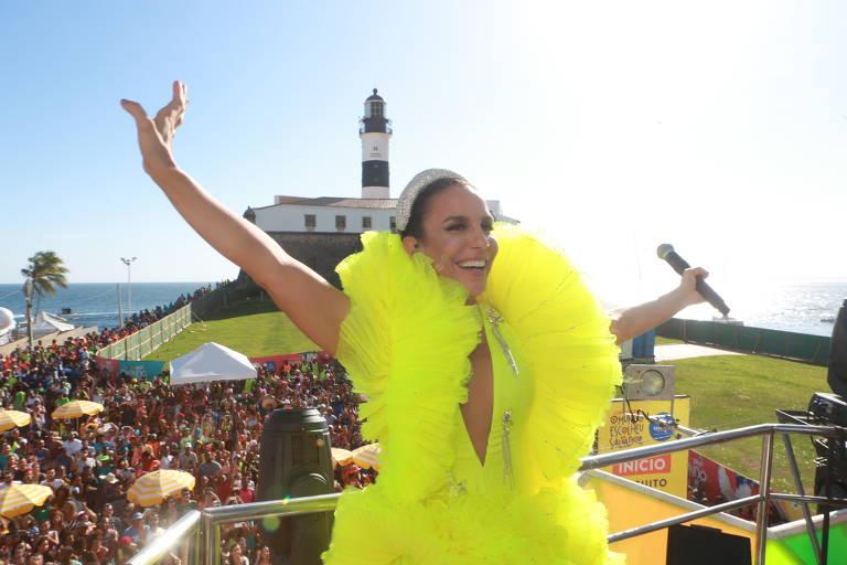 Ivete Sangalo no Carnaval 2019 em Salvador