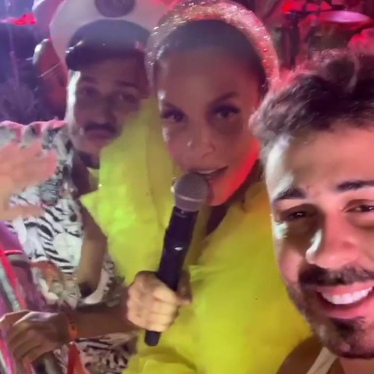 Ivete Sangalo celebra o casamento do influenciador Carlinhos Maia e seu noivo, Lucas Guimarães