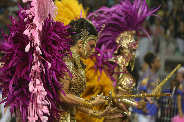 Desfile Rosas de Ouro