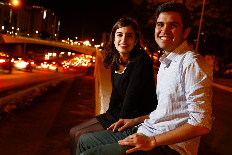 A deputada federal Tabata Amaral (PDT-SP) e o deputado estadual Renan Ferreirinha (PSB-RJ), que integram movimentos de renovação política