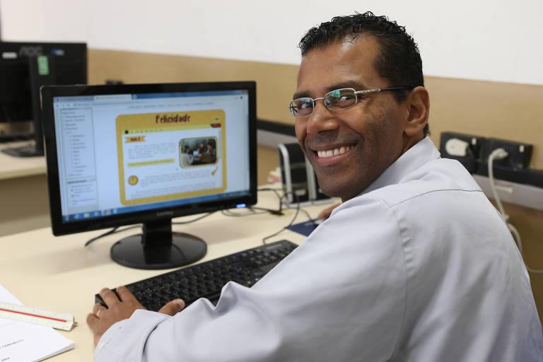 Jeferson Miguel fez o curso online de felicidade oferecido pelo Centro Paula Souza
