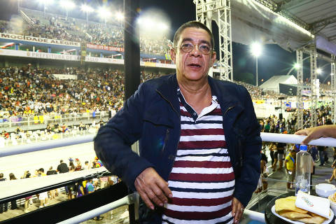 A segunda noite do Camarote Bar Brahma, em São Paulo, reuniu vários famosos entre eles o cantor Zeca Pagodinho