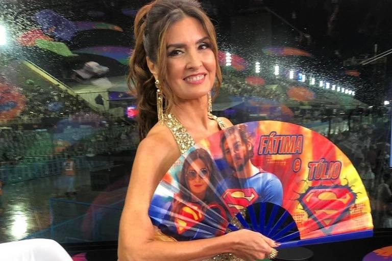 Carnaval 2019: Fátima Bernardes apresenta primeiro dia de desfiles na Sapucaí