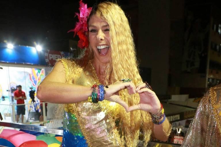 Carnaval 2019: Adriane Galisteu curte tio em Slavador, nesta sexta (1º)