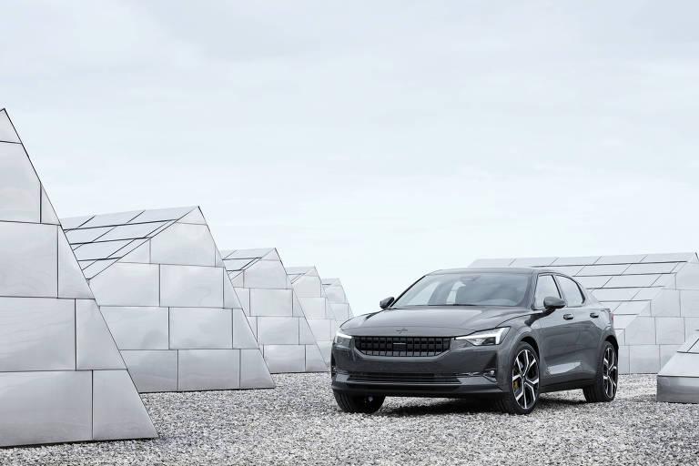 O Volvo Polestar 2, lançamento 100% elétrico da marca sueca