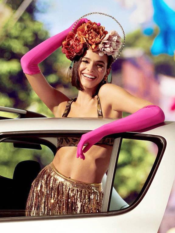 Bruna Marquezine no Carnaval de 2019