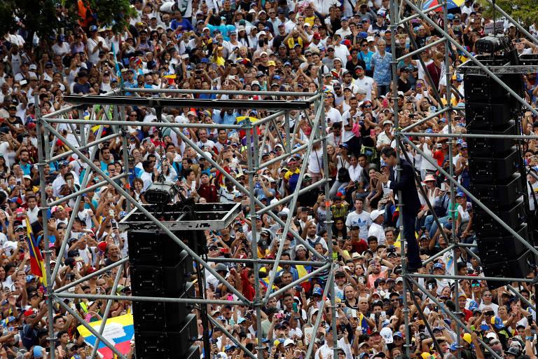 O retorno de Guaidó à Venezuela, na segunda (4)