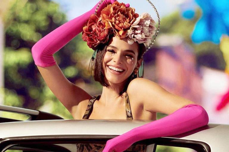 Bruna Marquezine no Carnaval em Salvador