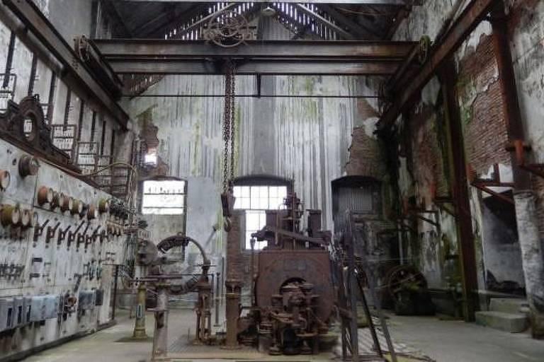 fábrica antiga