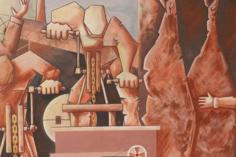 mural de Angel Juárez Masares