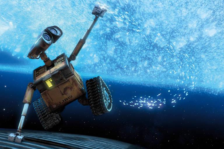 """Cena da animação """"Wall-e"""", da Pixar"""