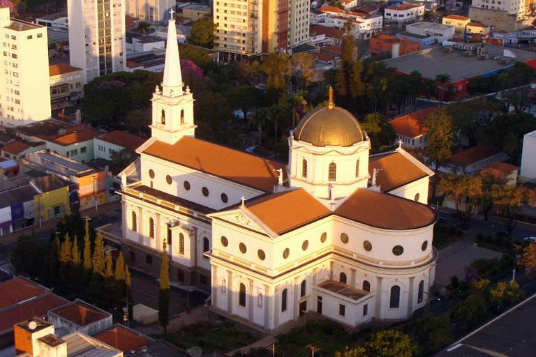 Basílica Matriz de Santo Antônio, em Americana (SP), que adotou práticas de transparência após escândalos